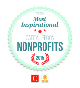 Inspiring Nonprofit Winner Badge Comstock's