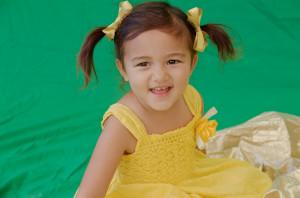 Makayla Gold Bows