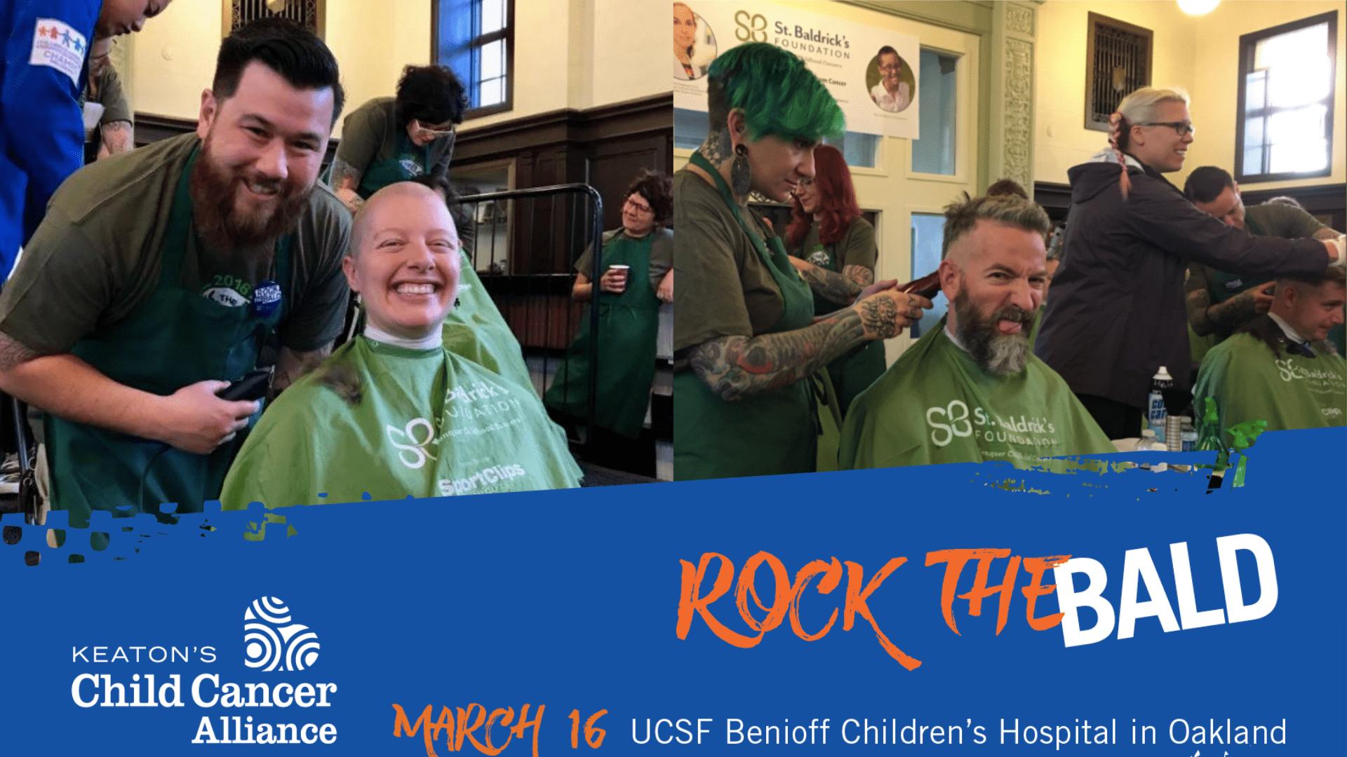 KCCA – St  Baldrick's Event – UCSF Benioff Children's Hospital